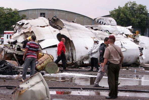 13 de septiembre de 2010. El avión ATR-72 de Conviasa se estrelló a poco...