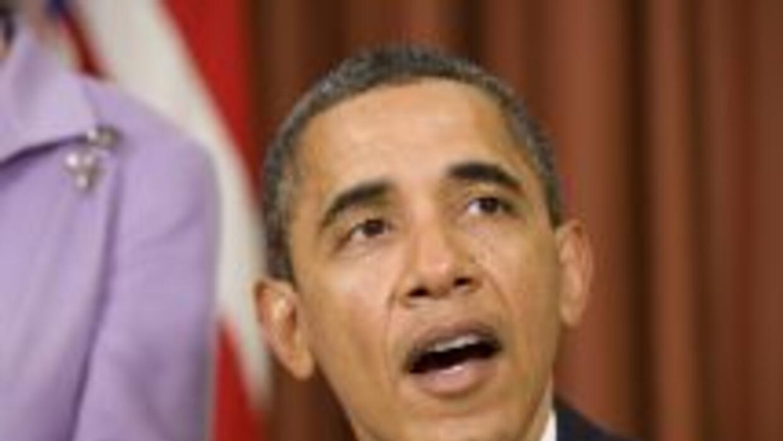Barack Obama tiene las manos 'amarradas' para arreglar a la economía, se...