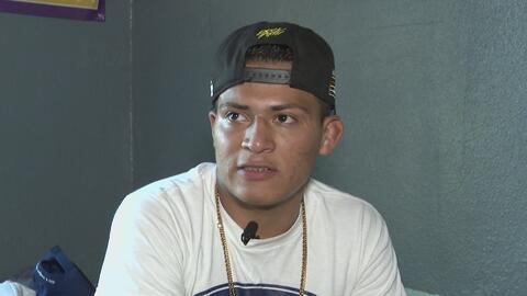 Un menor refugiado se convierte en una estrella de la lucha en Los Ángeles
