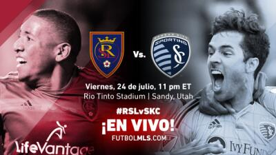 Real Salt Lake vs Sporting KC