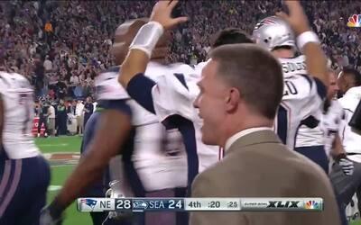 La intercepción de Malcolm Butler que le dio el Super Bowl a los Patriots