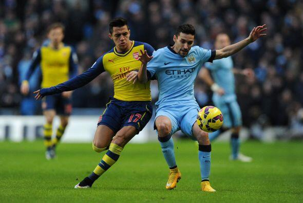El encuentro tuvo momentos de tensión tras el primer gol del Arsenal, el...