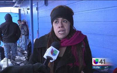 """""""Yo sé que hace frío pero sí necesitamos la ayuda de la comunidad"""": hija..."""