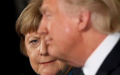 Trump no se arrepiente de sus acusaciones de espionaje y le dice a Merke...