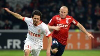 Mónaco se impuso por la mínima en la fecha 22 de Francia.