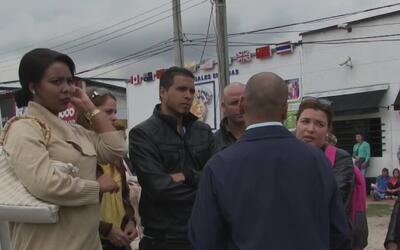 Cubanos que desertaron a misiones médicas para acogerse al programa de p...