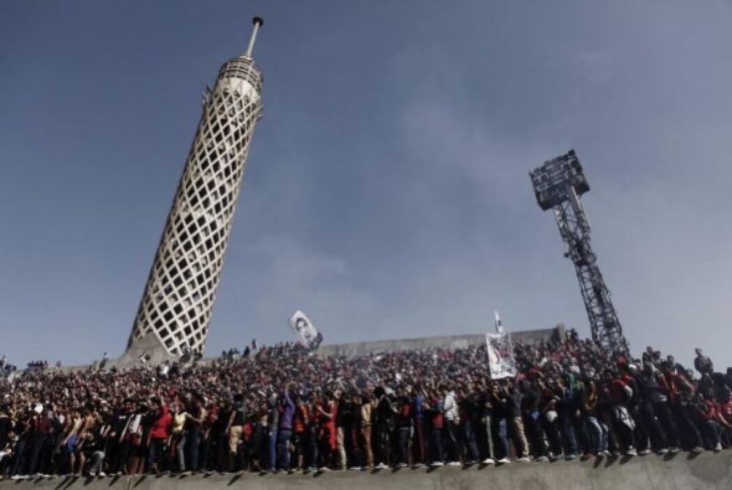 Las manifestaciones se caracterizaron por ser actos en contra del gobier...