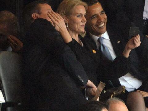 Una serie de fotografías del presidente de EEUU y la primera mini...