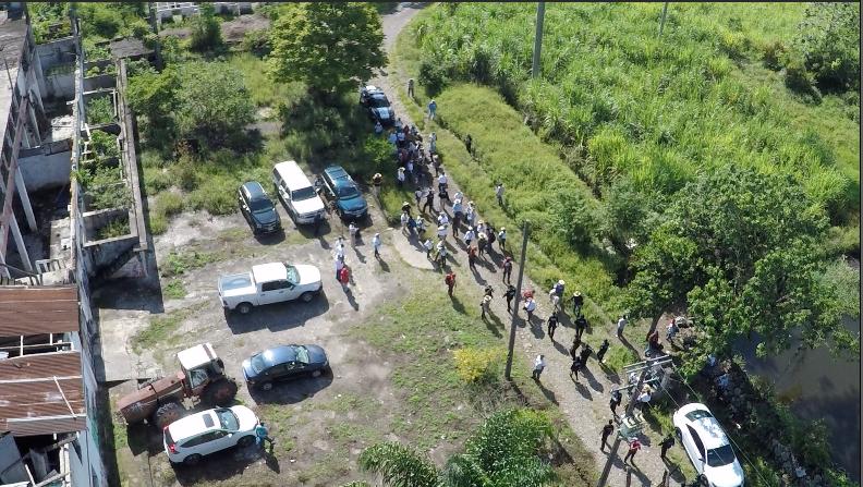 Decenas de brigadistas de diferentes estados mexicanos están sali...