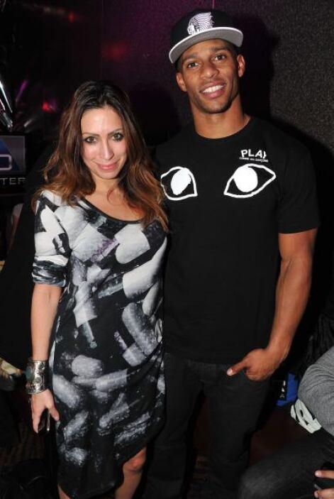 La propia diseñadora Leila Shams posó con uno de sus invitados de lujo.