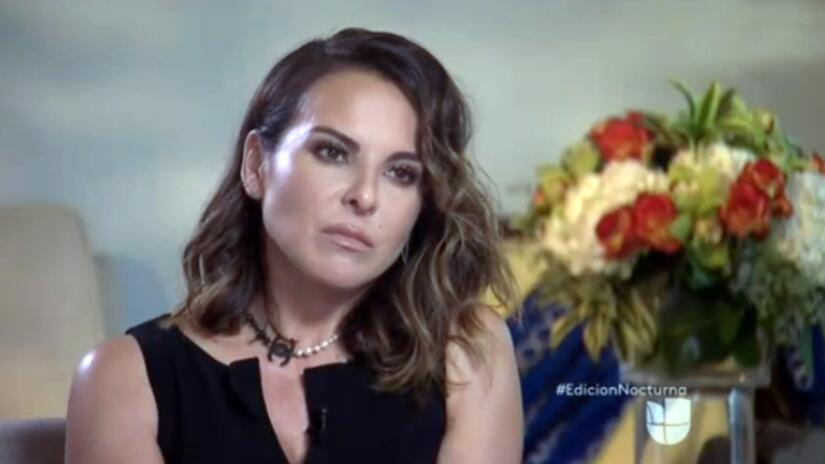 Kate Del Castillo habló con Jorge Ramos