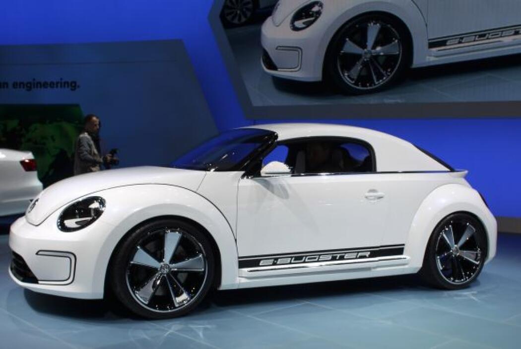 Vokswagen le dio un nuevo aspecto a su recién salido Beetle con el E-Bug...