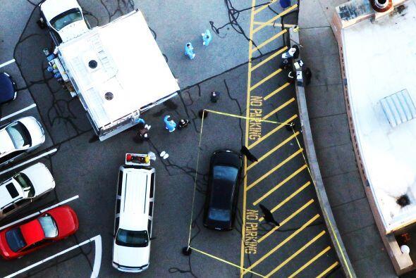 Tras los disparos registrados en Newtown, numerosos estudiantes del esta...