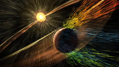 Tormentas solares erosionaron la atmósfera de Marte, reveló la NASA mart...