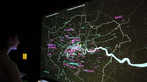 Un ganador del concurso Visualizando Ciudades muestra gráficamente actua...