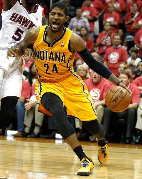 David West encabezó a los Pacers de Indiana en una racha de 16-4...