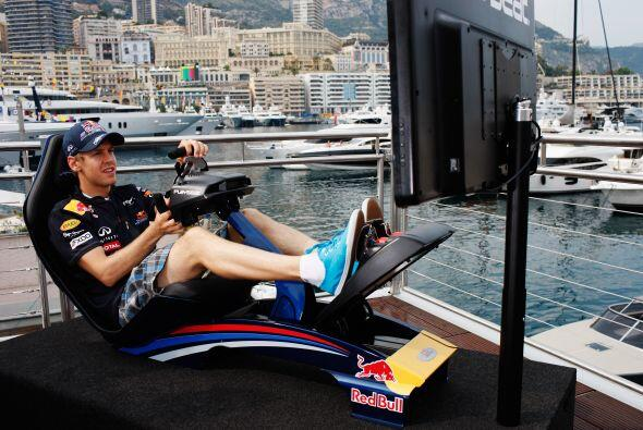 Las carreras de Fórmula 1 también se viven al máximo en video juego.