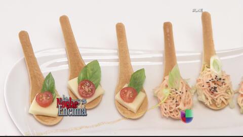 Cucharas comestibles revolucionan la cocina