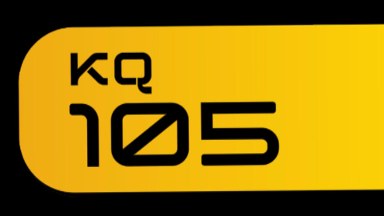 KQ105 Logo en Black