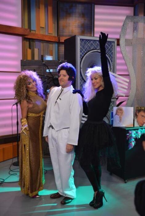 Es jueves de Halloween y empezó la fiesta en Despierta América.