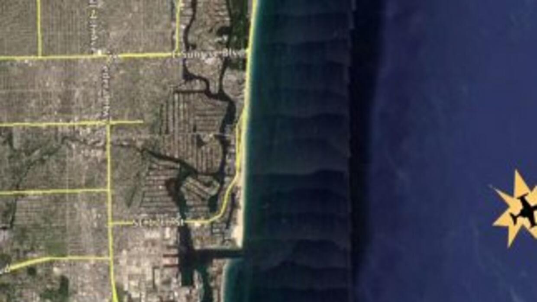 Avioneta cayó al mar cerca de Florida con cuatro mexicanos a bordo