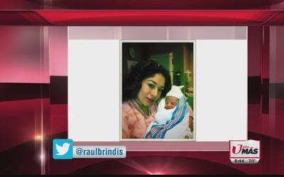 ¡Felicidades a Dinora por el nacimiento de su tercer hijo!