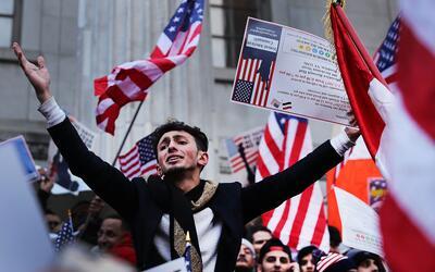 Las órdenes ejecutivas inmigratorias del presidente Trump generan...