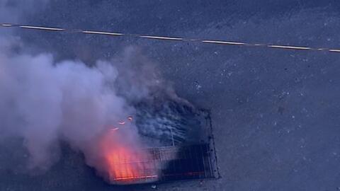 Registran explosión dentro de una alcantarilla en Astoria, Queens