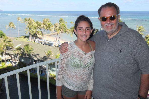 En cada uno de los sitios que visitaron, Raúl y su familia aprovecharon...