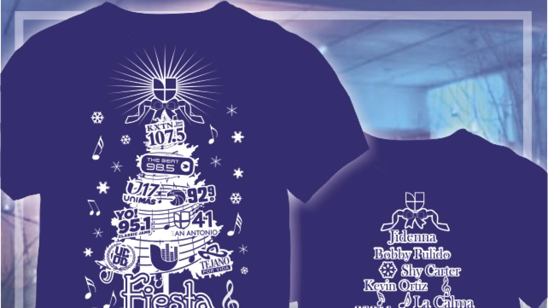 Camisetas Fiesta Navideña