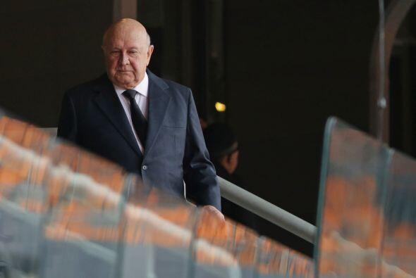 El expresidente sudafricano Frederik de Klerk, el último mandatario del...