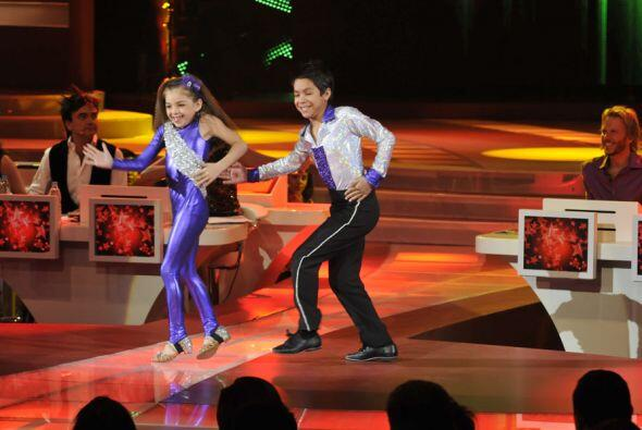 Daryna y Jorge mostraron sus mejores pasos.