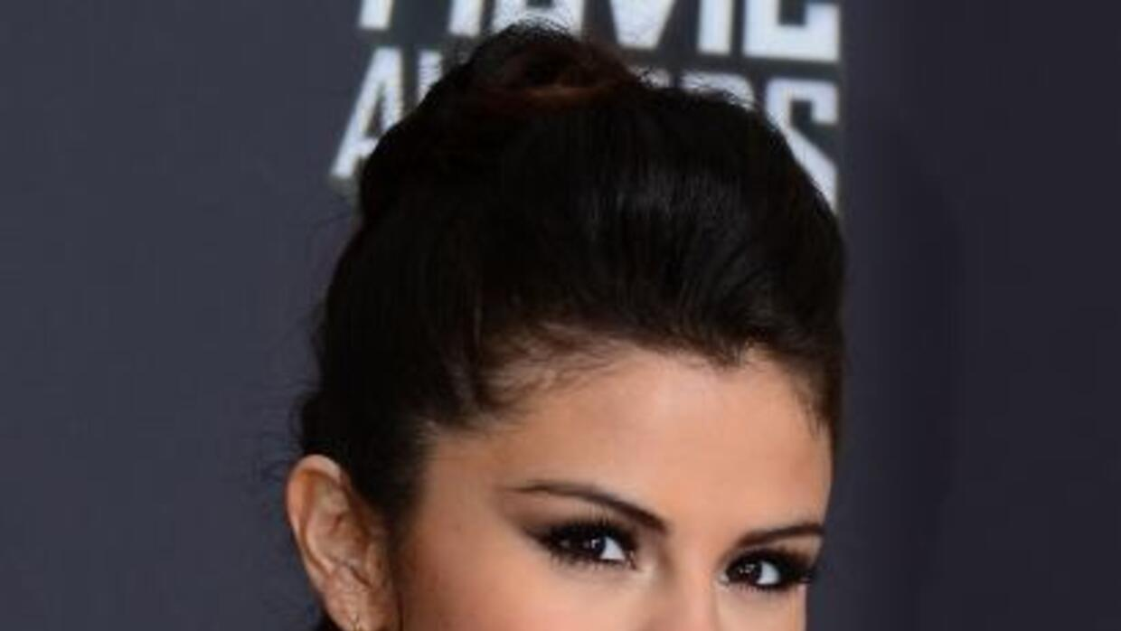 Selena Gomez en los MTV Movie Awards.