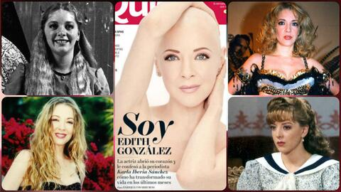Edith González, de estrella infantil a diva de telenovela #TBT