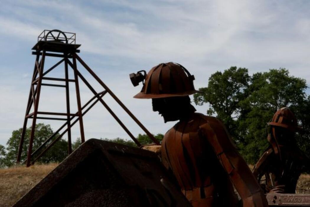 Minería, explotación de canteras, extracción de petróleo y gas  % de lat...