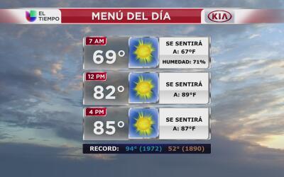 Nueva York tendrá un miércoles soleado y cálido