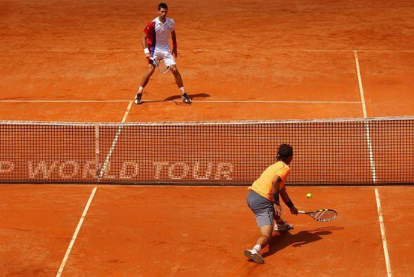 El de Belgrado jugó esta final lejos de su mejor tenis y vio cómo en el...