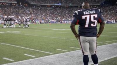 Vince Wifork es vital en la defensiva de los Patriots.