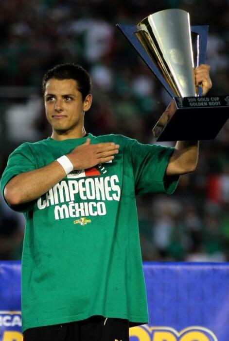 Javier Hernández fue reconocido como el más valioso del torneo.