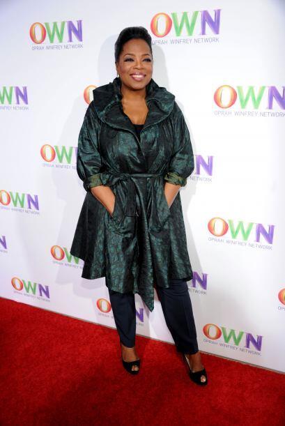 El imperio de Oprah, además de su programa, incluye revistas y hasta su...