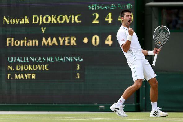Djokovic, cabeza de serie número uno en Londres, volvió a...