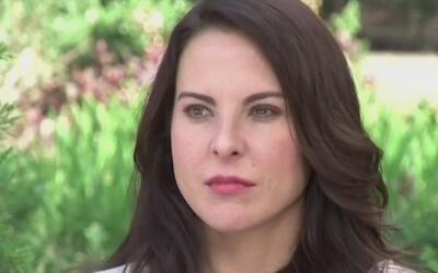 Kate del Castillo dice que alguien la quiere ver muerta tras rumor sobre...