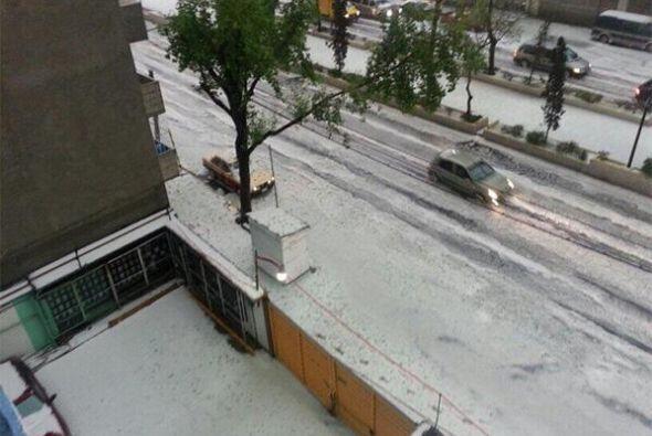 La Ciudad de México no es un lugar donde caiga nieve en invierno; sin em...