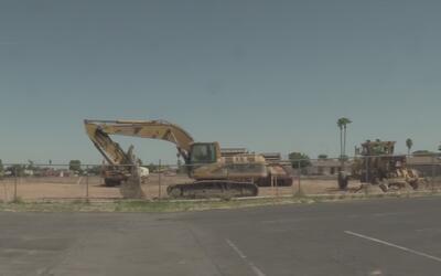 Investigan hallazgo de restos de un menor en sitio de construcción