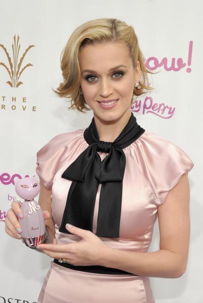 """""""Purr"""" y """"Meow!"""" son los 'purrfumes' de Katy Perry c..."""