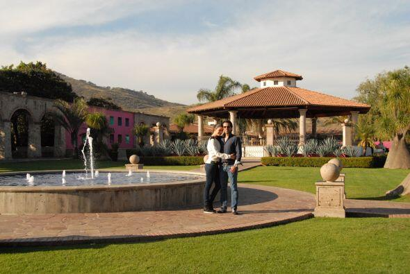 La presentadora de Despierta América viajó a Guadalajara con su prometid...