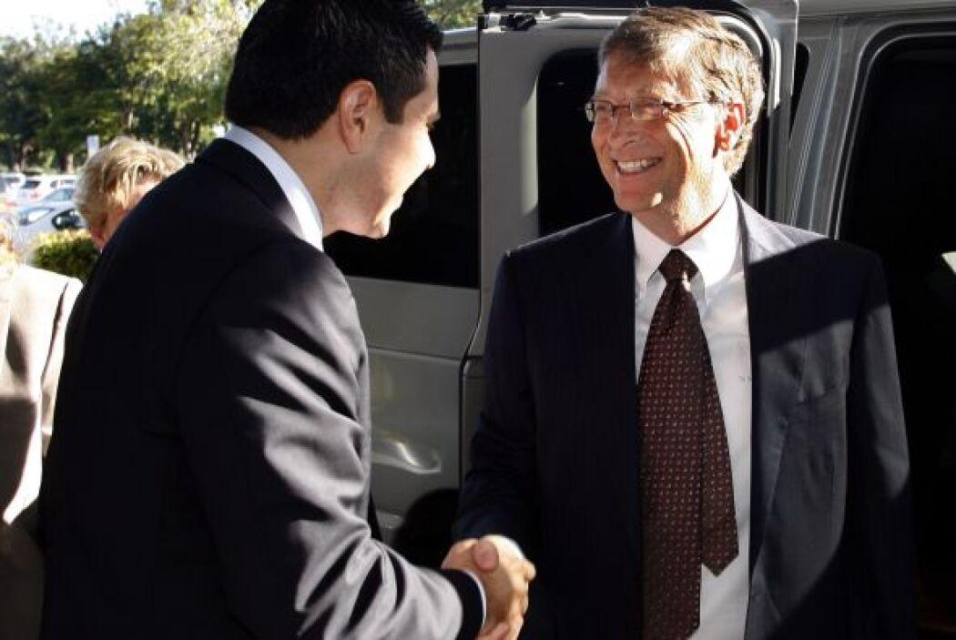 Durante la entrevista, conducida por Conde, Bill Gates habló sobre cómo...
