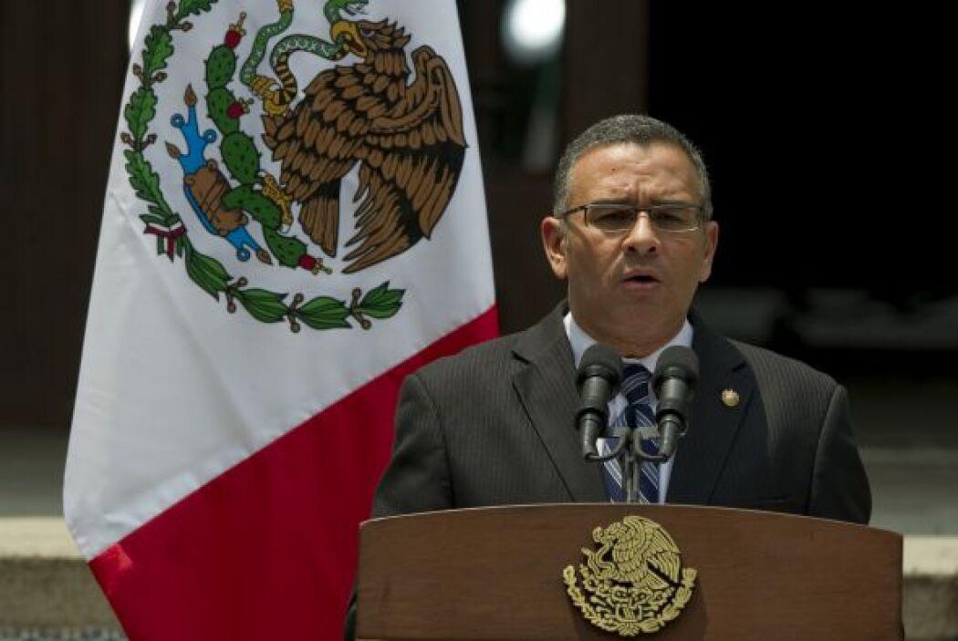 Funes, estuvo acompañado durante la reunión del canciller Hugo Martínez,...