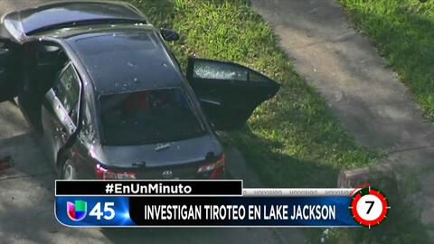 En Un Minuto Houston: Investigan incidente en el que un policía de Lake...