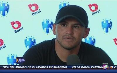 Humberto Suazo: 'Vamos a enfrentar el partido de muy buena forma'